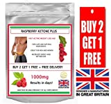 Raspberry Ketones 1000mg Max Strength -30 Capsules -| Wild Weight Loss, | Helps Shed Fat for Men and Women | Achieve Fat Loss Goals Fast | Safe and Effective | Manufactured in The UK!
