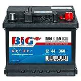 BIG Silber Ca/Ca - 12 V / 44 Ah - 360 A/EN - 54459 Autobatterie