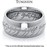 The One Ring in Silver Comparable to The Lord of the Rings and the Hobbit