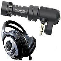 Rode VideoMic me microfono per smartphone cuffie stereo KEEPDRUM