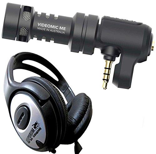 Rode VideoMic Me Microfono per Smartphone + Keep Drum Cuffie Stereo