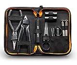 GeekVape Mini DIY Kit V2 Werkzeug-Set mit multifunktionalen Keramikspule Pinzette / Spule Jig Drahtaufwicklung Werkzeug, ideal für DIY Zerstäuber RDA / RTA / RBA