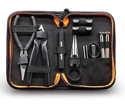 GeekVape Mini DIY Kit V2 Werkzeug-Set mit multifunktionalen Keramikspule Pinzette / Spule Jig Drahtaufwicklung Werkzeug, ideal für DIY Zerstäuber RDA / RTA / RBA -