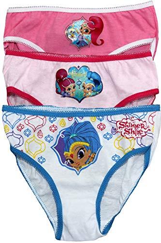 Nickelodeon Mädchen Unterhose * Gr. 4-5 Jahre, Multi (Nickelodeon Mädchen Unterwäsche)