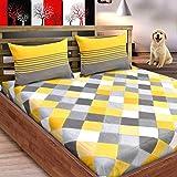 Best Flat Pillows - Loreto Premium 144 TC Pure Cotton Double Bedsheet Review