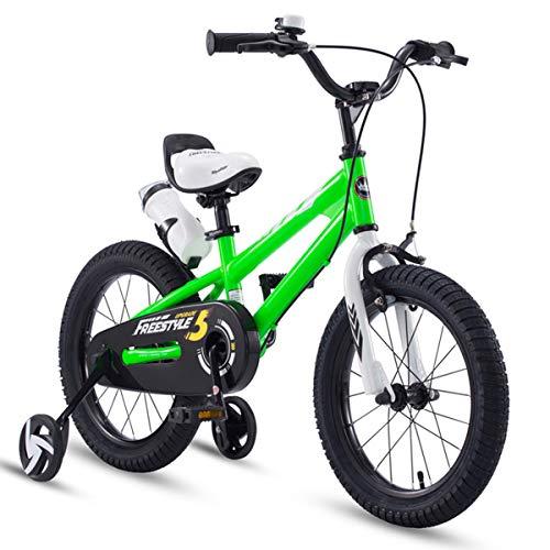 WMZXC Kinderfahrräder Freestyle Jungen Und Mädchen Fahrrad Größe 12