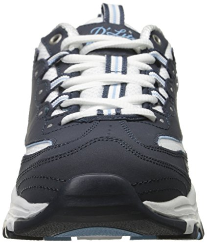 Skechers Damen D'lites-biggest Fan Turnschuhe Azul (Nvw)