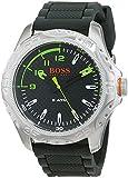Hugo Boss Orange Herren Datum klassisch Quarz Uhr mit Silikon Armband 1550033