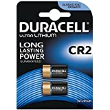 Duracell - Lot de 2 Piles Spéciales Ultra Lithium Appareils Photo - type CR2