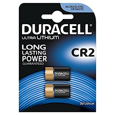 DURACELL blister de 2 Piles photo Lithium Ultra CR2