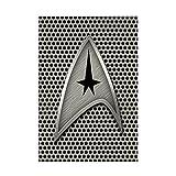 CafePress-Star Trek Insignia Grille en métal-avec aimant rectangulaire,...