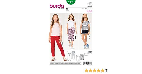 Kids, Gr. 104-146 Burda 9288 Schnittmuster Kombination Level 0 super Easy