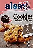 Alsa Préparation pour Cookies Nature Pépites Chocolat 300g - Lot de 3