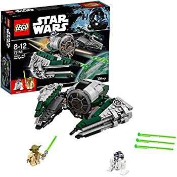 LEGO - Star Wars - Yoda's Jedi Starfighter - 75168 - Jeu de Construction
