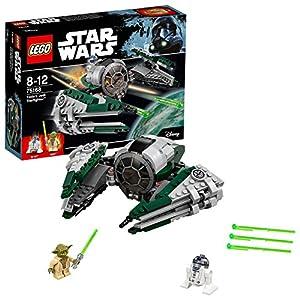 LEGO- Star Wars Jedi Starfighter di Yoda Costruzioni Piccole Gioco Bambina, Multicolore, 75168  LEGO