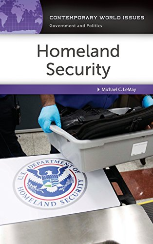 Homeland Security: A Reference Handbook (Contemporary World Issues)