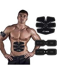 Bauchmuskeltrainer Fitness Geräte Elektrostimulation Massagegerät Muskelaufbau und Fettverbrennungn Unterstützen Automatische Übungen Maschine