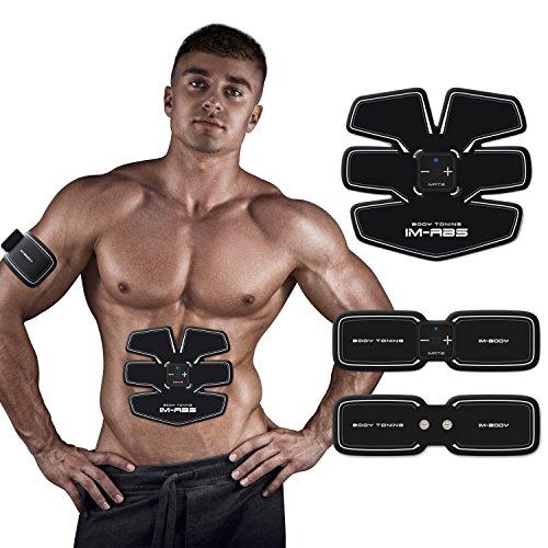 Imate elettrostimolatore muscolare cintura dimagrante uomo macchina per addominali pancia dimagrante