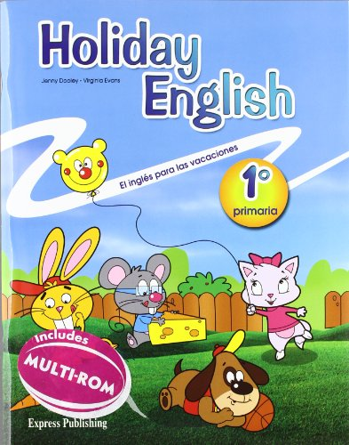 Holiday English 1º Primaria Student's Pack with Audio CD/CD-Rom (Spain)