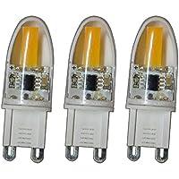 KINGSO 10 St/ück G9 Gl/ühbirnen 40W Globe Halogenlampe 220-240 V Warmwei/ß/Dimmbar