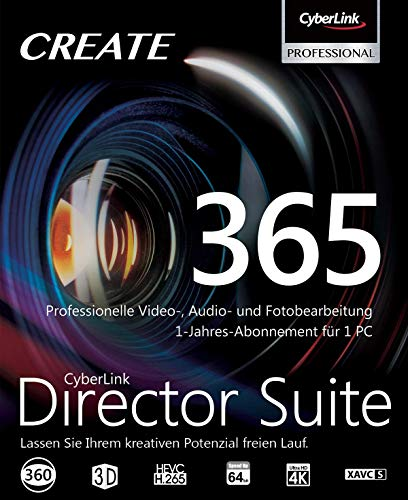 CyberLink Director Suite 365 / 12 Monate , PC , Download