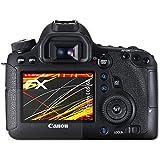 atFoliX Film Protecteur Canon EOS 6D Écran protecteur - Set de 3 - FX-Antireflex-HD Antireflet pour écrans à haute résolution