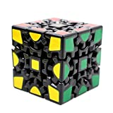 Magic Combination 3d Gear Cube I Generation Black Painted Stickerless...