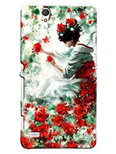 Expert Deal Best Quality 3D Printed Hard Designer Back Cover For Sony Xperia C4