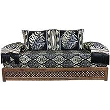 Casa Moro Oriental sofá marroquí, Asiento cojín Asiento, Esquina, Sark kösesi, sillas
