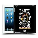 Head Case Designs Offizielle AMC The Walking Dead Motorrad Flammen Daryl Dixon Biker Kunst Ruckseite Hülle für iPad 3 / iPad 4