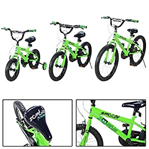 actionbikes kinderfahrrad zombie ab 3 9 jahren 12 16 20. Black Bedroom Furniture Sets. Home Design Ideas