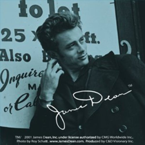 "Preisvergleich Produktbild JAMES DEAN Ear Scratch, Officially Licensed Original Artwork, 3"" x 3"" - Long Lasting Sticker Aufkleber DECAL"