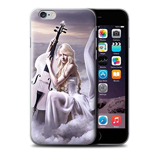 Officiel Elena Dudina Coque / Etui pour Apple iPhone 6+/Plus 5.5 / Violoncelle/Nuages Design / Réconfort Musique Collection Violoncelle/Nuages