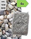 Ciottoli di Torrente - 4 sacchi da 25 kg - sassi fiume pietre giardino (30/60)