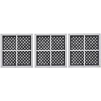 3 pack repuesto, filtro del aire del refrigerador Kenmore LG LT120F, ADQ73214404, 469918
