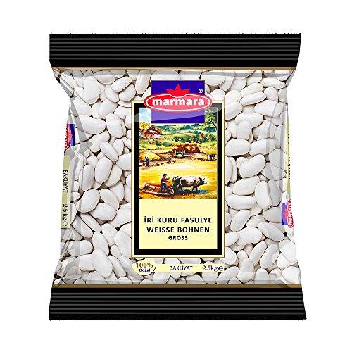 Marmara Weisse Bohnen, groß, 2er Pack (2 x 2.5 kg)