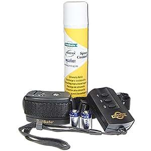 """Erziehungs Halsband """"Spray-Commander"""" Setzt ein harmloses Spray ein keinen Strom der Hund hat bei Benutzung keine Schmerzen Mit Spray-Commander haben Sie eine """"verlängerte Leine"""