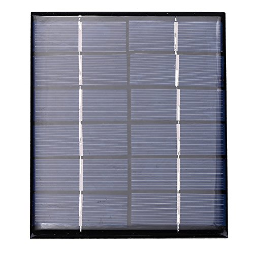 Neufday-Portable 3W 6V Silicon Solar Ladegerät Panel Outdoor für Solar Gartenbeleuchtung