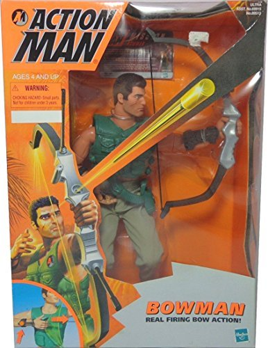Action Man Bowman with Real Firing Bow Action by Action Man