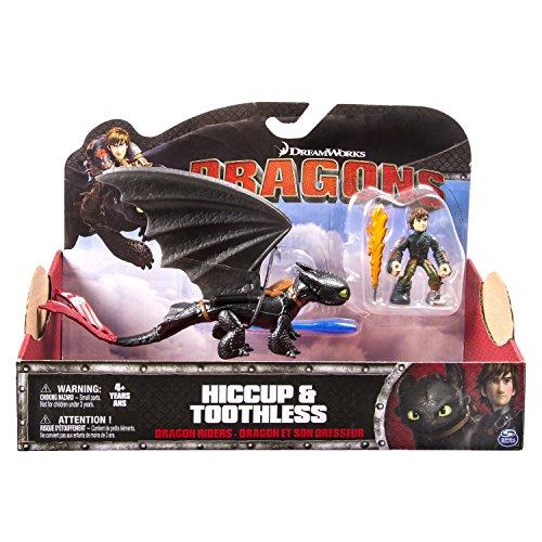 Dragons - 6026883 - Figurines Et Son Dresseur - Harold Et Krokmou