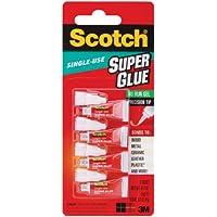 Scotch Colla Super Gel no-run monouso (sgad-929)–4tubi di 0,5g per confezione