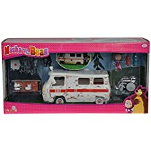 Simba 109309863 - Playset Ambulanza Masha con Personaggi e Accessori