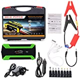 Autone 89800mAh 4 USB Portable Car Jump Starter Pack Booster Charger Battery Power
