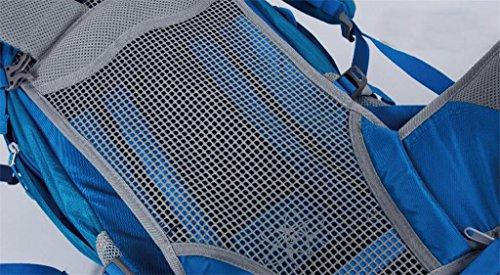 borsa da viaggio grande capacità esterno di alpinismo zaino professionale 42L campeggio trekking zaino tracolla uomini e donne borsa ( Colore : Marrone , dimensioni : 36-55L ) Arancia