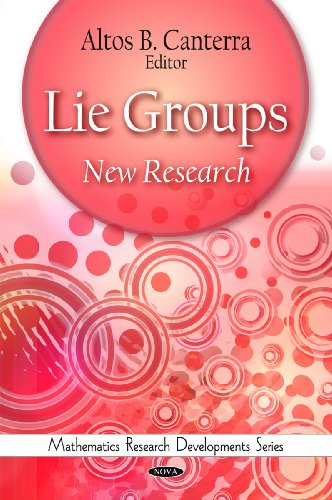 Lie Groups: New Research (Mathematics Research Developments Series)