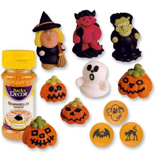 Tortendekor-Set Halloween (Cupcake Halloween Ideen Dekor)