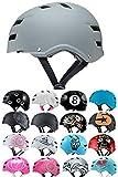SkullCap® Casco BMX - Casco Skate - Casco Bici - Caschi Donna Uomo Bambino
