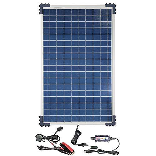 TecMate OptiMATE SOLAR 40W, TM523-4, 40W Paneln 6-stufiges batterieschonendes Überwachungssystem Solar ladegerät & wartungsgerät 12V 3,33A  für Pkw, Boote, Traktors oder Baggers