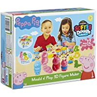 Peppa Pig Dough Mould and Play 3D Figure Maker (Multi-Colour)