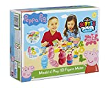 Peppa Pig 21027 Dough Mould and Play 3D Figure Maker (Multi-Colour)